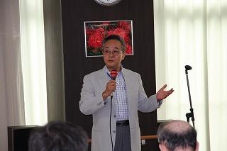 施設長の開会の挨拶(^^)