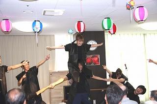 3階職員さん(^^)ソーラン節!